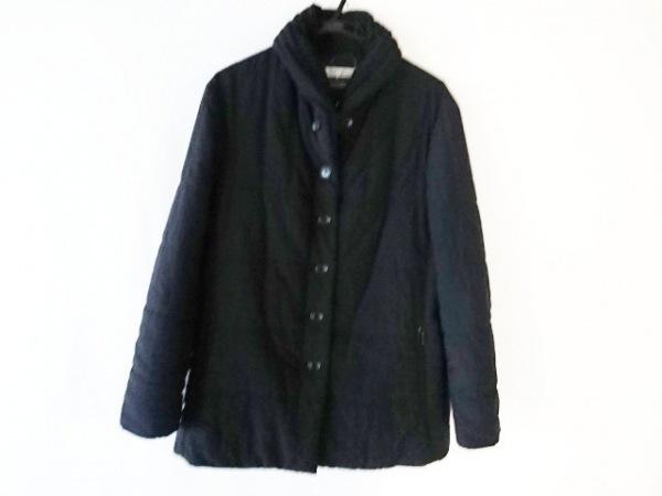 ISSEYMIYAKE(イッセイミヤケ) ダウンジャケット サイズ2 M レディース ダークネイビー