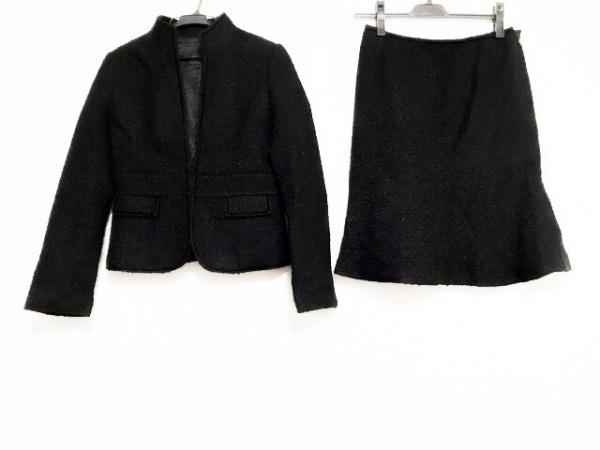 ユナイテッドアローズ スカートスーツ サイズ40 M レディース美品  黒 ラメ