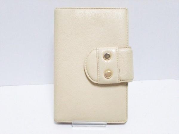 土屋鞄製造所(ツチヤカバンセイゾウショ) 手帳 ベージュ 6穴 レザー