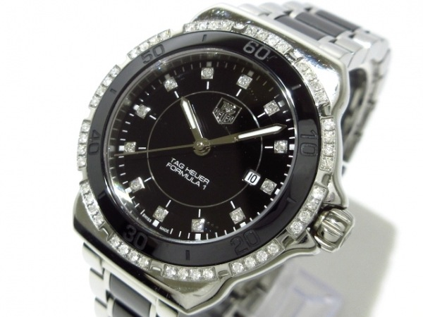 TAG Heuer(タグホイヤー) 腕時計 フォーミュラ1 WAH1312 レディース 黒