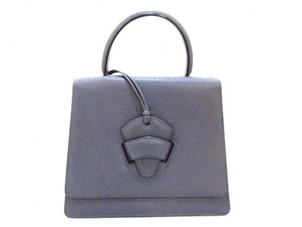 LOEWE(ロエベ) ハンドバッグ バルセロナ ネイビー レザー