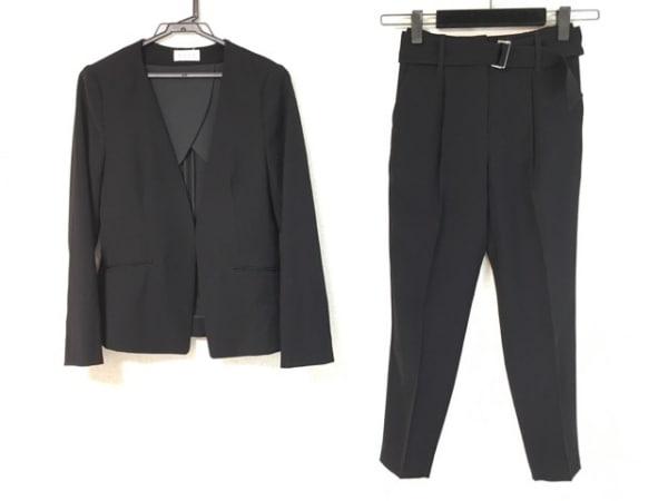 PLS+T(PLST)(プラステ) レディースパンツスーツ サイズS レディース美品  黒