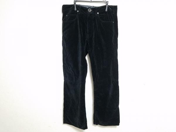 ARMANICOLLEZIONI(アルマーニコレッツォーニ) パンツ サイズ32 XS メンズ 黒 ベロア