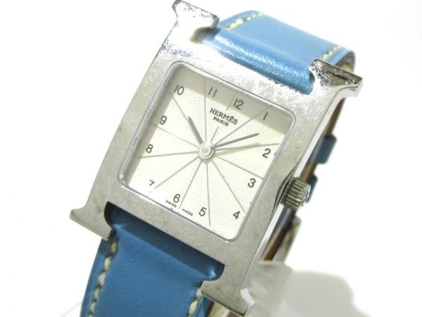 HERMES(エルメス) 腕時計 Hウォッチ HH1.210 レディース □I アイボリー