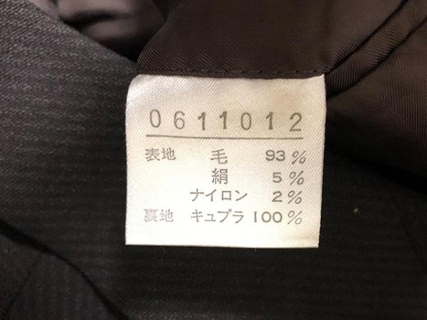 BARREAUX(バルー) ダブルスーツ メンズ ダークブラウン 3点セット