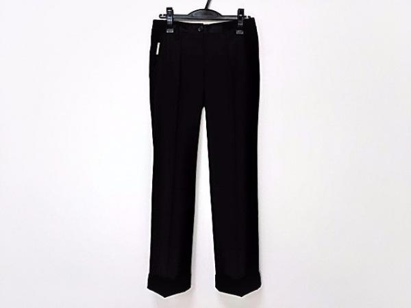 DOLCE&GABBANA(ドルチェアンドガッバーナ) パンツ サイズ36 S レディース美品  黒