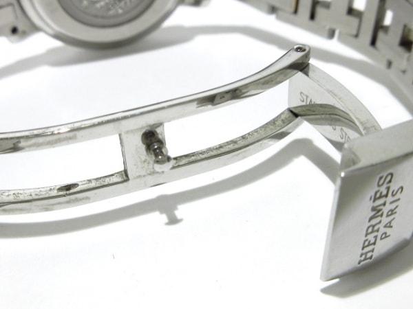 HERMES(エルメス) 腕時計 クリッパーナクレ CL4.222 レディース シェルピンク