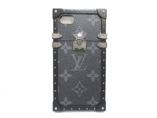 ルイヴィトン 携帯電話ケース モノグラムエクリプス(キャンバス) M64404 黒