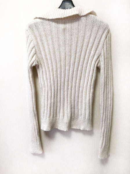agnes b(アニエスベー) 長袖セーター サイズ2 M レディース アイボリー