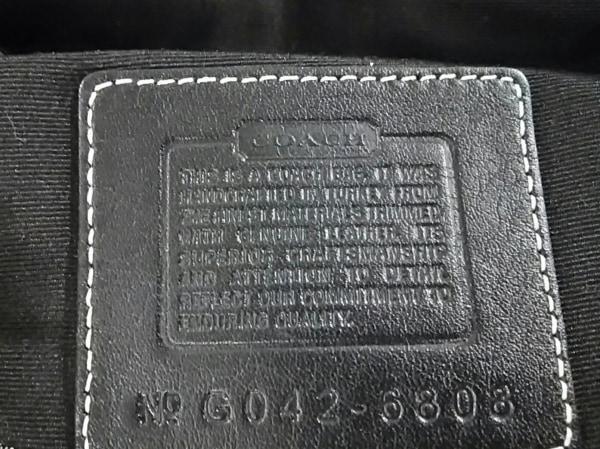 COACH(コーチ) ショルダーバッグ美品  ソーホーミニシグネチャーフラップ 6808