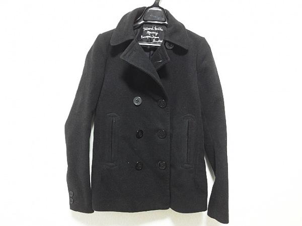 moussy(マウジー) Pコート サイズ1 S レディース 黒 冬物
