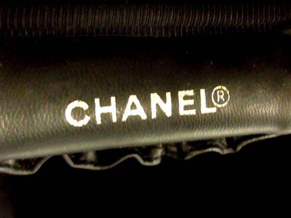 CHANEL(シャネル) バニティバッグ キャビアスキン A01998 黒 ゴールド金具 レザー