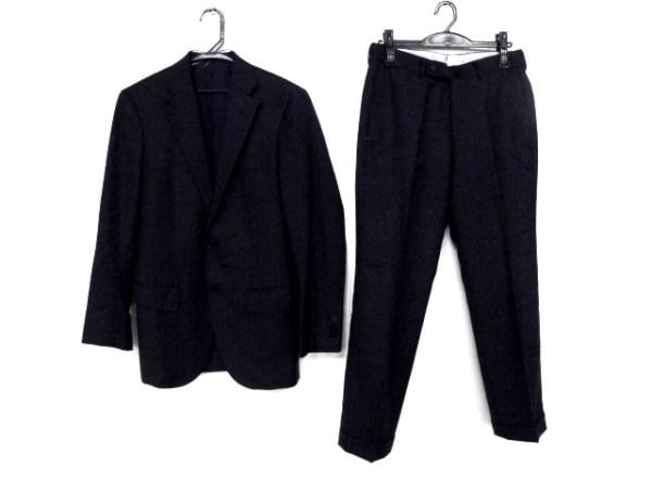 TOMORROWLAND(トゥモローランド) シングルスーツ サイズ42 L メンズ ダークネイビー