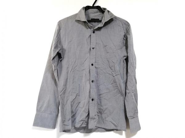 リーツテイラーザズー 長袖シャツ サイズ38 M メンズ美品  グレー