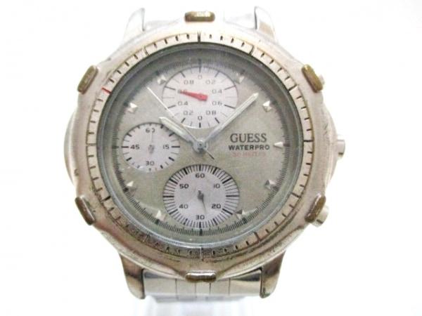 GUESS(ゲス) 腕時計 - メンズ グレー