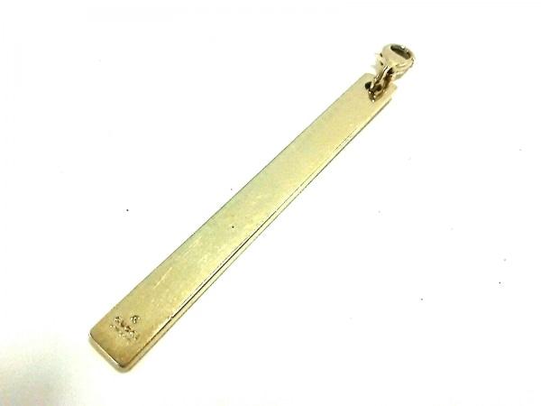 GUCCI(グッチ) キーホルダー(チャーム) - ゴールド 金属素材