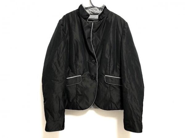 ペゼリコ ジャケット サイズ42 L レディース美品  黒×ライトグレー 春・秋物