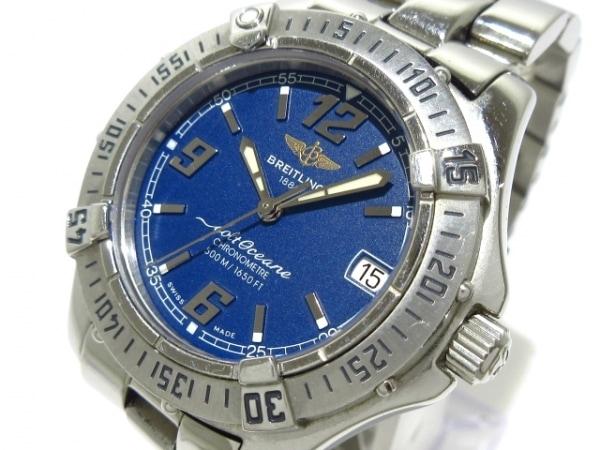 BREITLING(ブライトリング) 腕時計 コルトオーシャン A57350 ボーイズ ネイビー