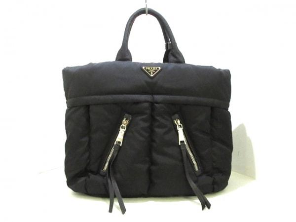 PRADA(プラダ) ハンドバッグ美品  テスートボンバー BN2617 黒 ナイロン