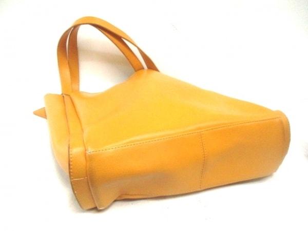 JUN MEN(ジュンメン) トートバッグ オレンジ レザー
