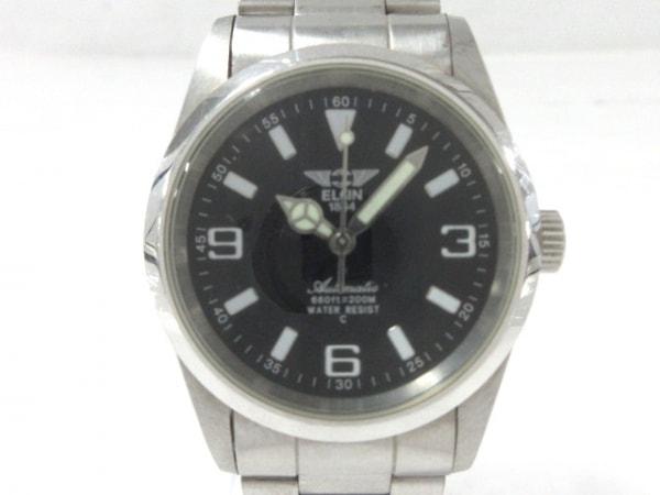 ELGIN(エルジン) 腕時計 FK-979-C メンズ 黒