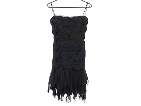 TADASHI(タダシ) ドレス レディース美品  黒 シルク