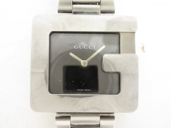 sale retailer 09465 5712c GUCCI(グッチ) 腕時計 3600M メンズ 社外ベルト 黒