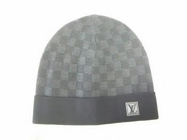 ルイヴィトン ニット帽 ダミエグラフィット新品同様  ボネ・プティ ダミエ M70009