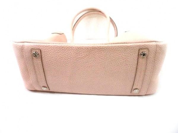 Accessoires(アクセソワ) トートバッグ ピンク レザー