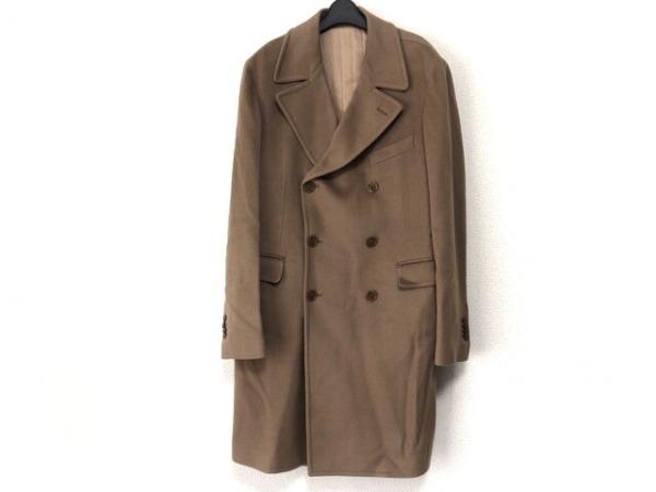 TAGLIATORE(タリアトーレ) コート サイズ52/8 R メンズ ライトブラウン 冬物/カシミヤ