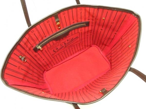ルイヴィトン トートバッグ ダミエ美品  ネヴァーフルMM N51105 エベヌ