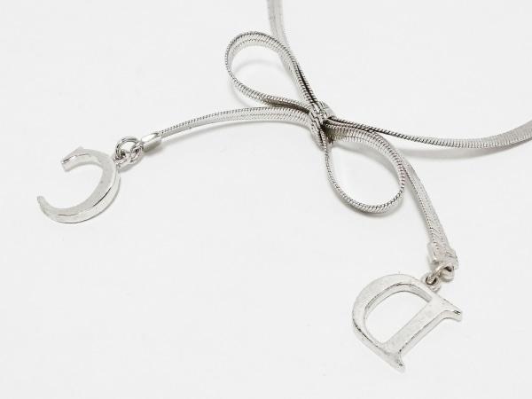 ChristianDior(クリスチャンディオール) ネックレス 金属素材 シルバー
