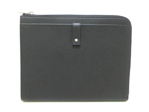 サンローランパリ 小物入れ美品  サック・ド・ジュール 507686 黒 タブレットケース