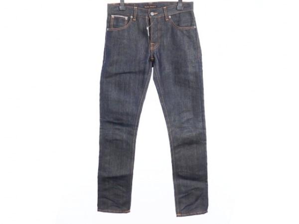 NudieJeans(ヌーディージーンズ) ジーンズ サイズW30 L32 メンズ美品  ダークネイビー