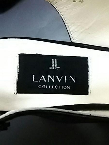 LANVIN(ランバン) サンダル 24 レディース美品  黒 レザー