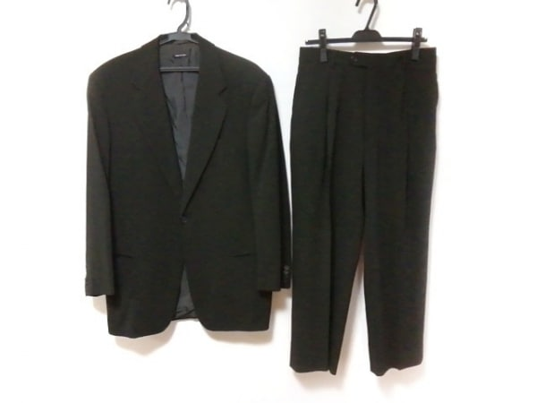 GIORGIOARMANI(ジョルジオアルマーニ) シングルスーツ メンズ 黒