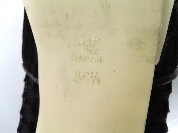 pippichic(ピッピシック) パンプス 36 1/2 レディース 黒 化学繊維