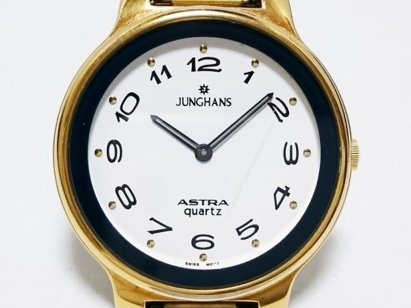 JUNGHANS(ユンハンス) 腕時計 JA-0116M メンズ 白