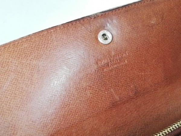 ルイヴィトン 長財布 モノグラム ポシェット・ポルト モネ クレディ M61725(旧型)