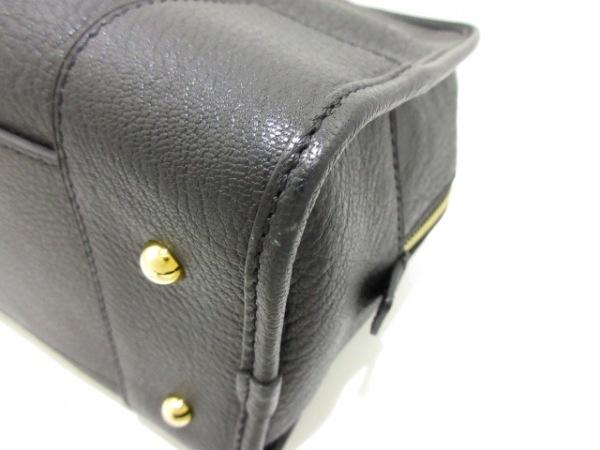 LOEWE(ロエベ) ハンドバッグ美品  アマソナ28 黒 ゴートレザー