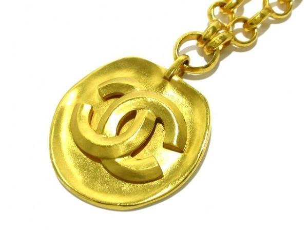 CHANEL(シャネル) ネックレス美品  金属素材 ゴールド ココマーク