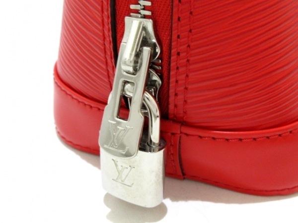 LOUIS VUITTON(ルイヴィトン) ハンドバッグ エピ美品  アルマBB M40850 カーマイン