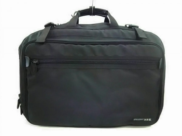 KANZAN(カンザン) ビジネスバッグ美品  黒 レザー