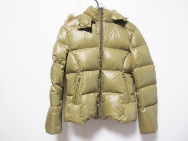 クルーンアソング ダウンジャケット サイズ38 M レディース カーキ 冬物