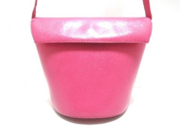 LA BAGAGERIE(ラバガジェリー) ショルダーバッグ ピンク レザー