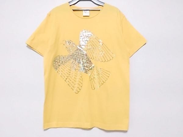 ALEUCA(アリューカ) 半袖Tシャツ サイズM レディース イエロー×マルチ