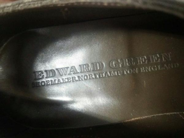 EDWARDGREEN(エドワードグリーン) シューズ 6 1/2 メンズ美品  ダークブラウン レザー