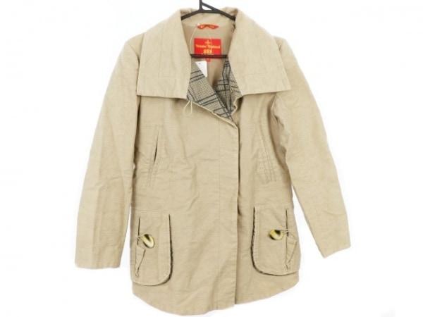 ヴィヴィアンウエストウッドレッドレーベル コート サイズ1 S レディース美品  冬物