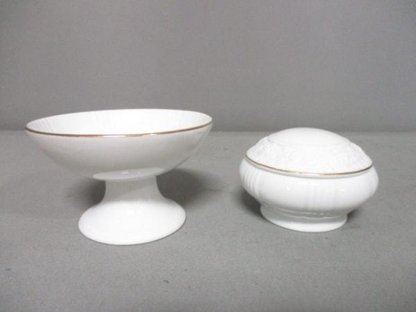 Guy Laroche(ギラロッシュ) 食器新品同様  白 シュガー&シロップ 陶器