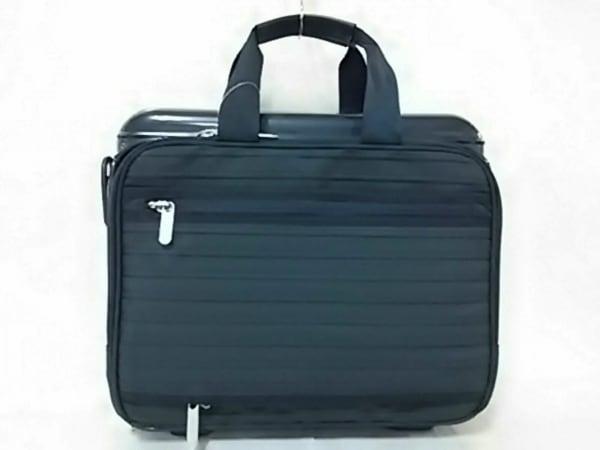 RIMOWA(リモワ) ビジネスバッグ美品  ネイビー ポリカーボネート×ナイロン×レザー